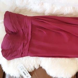 Azazie Ivy Bridesmaid Dress in Mulberry